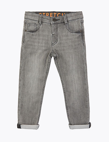 Skinny Leg Denim Jeans (3 Months - 7 Years)