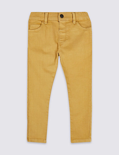 Cotton with Stretch Jeans (3 Months - 7 Years)