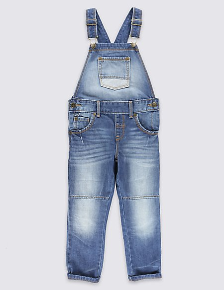 Pure Cotton Dungarees (1-7 years)