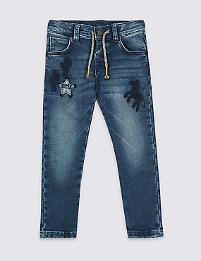 Cotton Rich Skinny Jeans (3 Months - 7 Years)