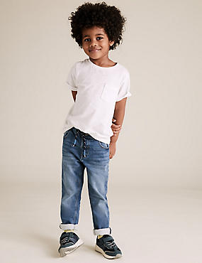 Regular Fit Comfort Stretch Jeans (2-7 Yrs)