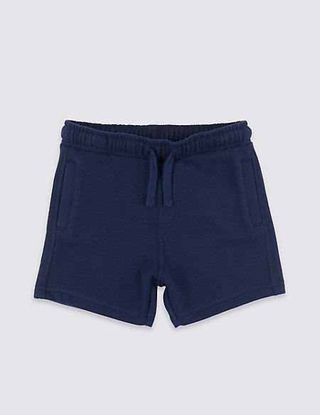 Cotton Rich Jersey Shorts (3 Months - 7 Years)