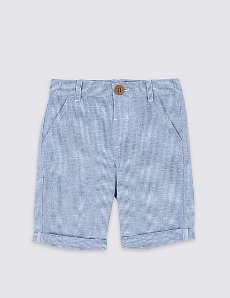 Cotton Rich Chino Shorts (3 Months - 7 Years)