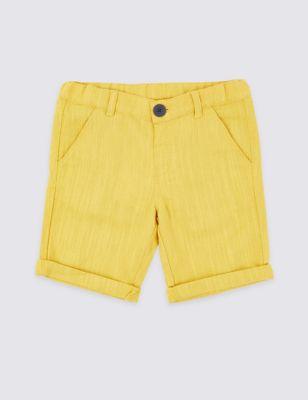 ff57a25ed666 Linen Blend Shorts (3 Months - 7 Years) £9.00 - £12.00