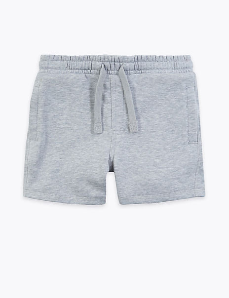 Cotton Rich Jersey Shorts (2-7 Years)
