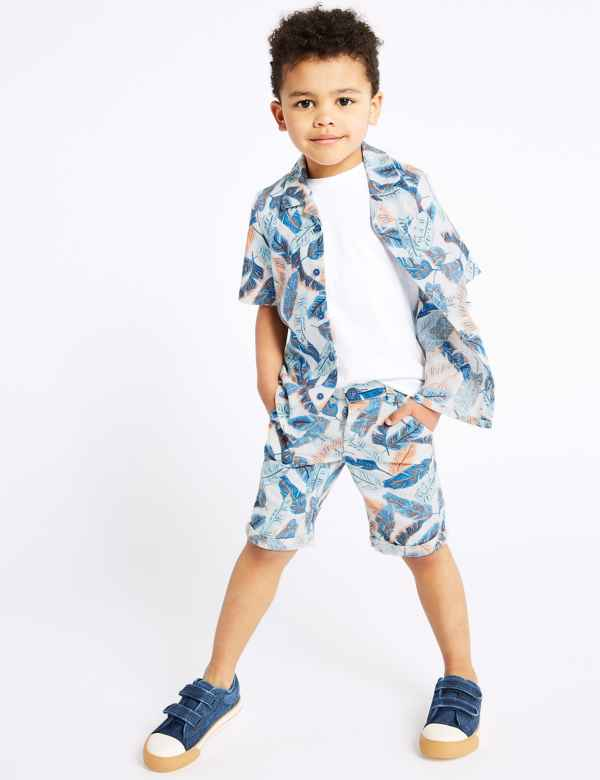 Next Toddler Boys Blue Summer Shorts Size 9-12 Months Baby & Toddler Clothing Clothing, Shoes & Accessories