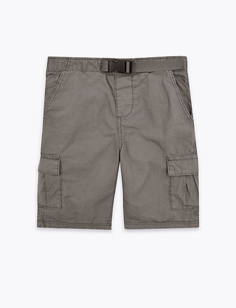 Regular Cotton Cargo Shorts (2-7 Years)