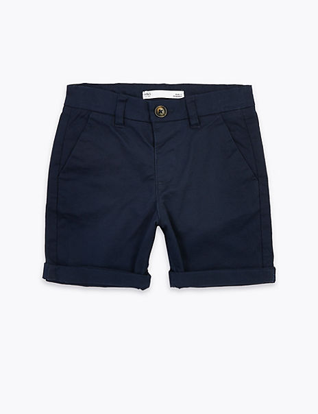 Cotton Rich Chino Shorts (2- 7 Years)