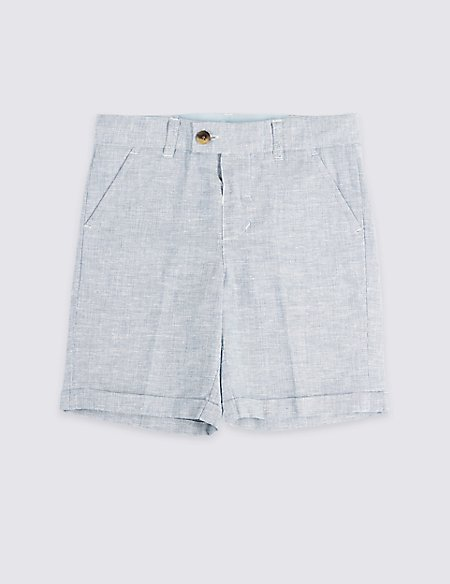 Linen Shorts (3 Months - 7 Years)