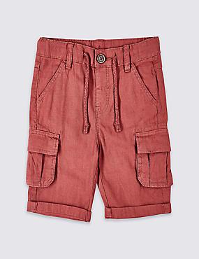 Linen Rich Shorts (3 Months - 7 Years)