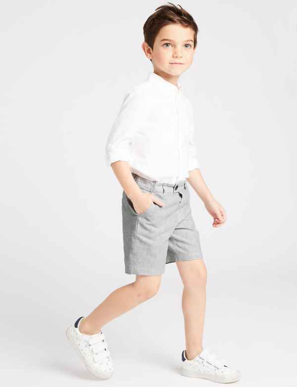 120efc857ec Cotton Blend Shorts (3 Months - 7 Years)