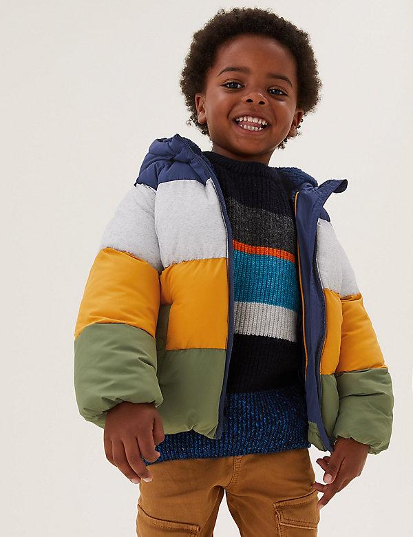 Stormwear™ Borg Lined Padded Coat (2-7 Yrs)