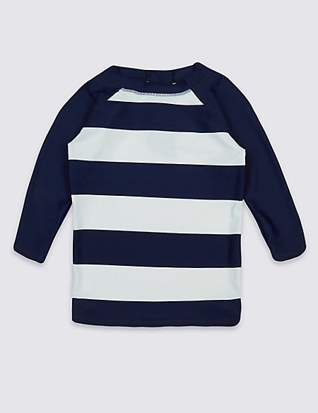 Striped Rash Vest (0-14 Years)