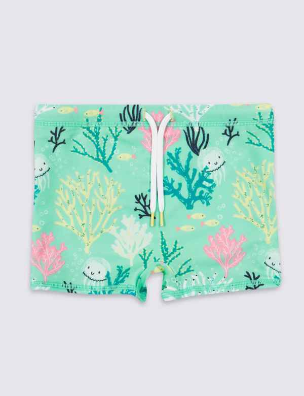 7b0830bb2a Sustainable Jelly Fish Swim Trunks (3 Months - 7 Years)