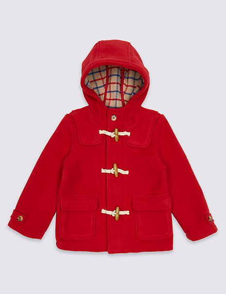 Paddington™ Duffle Coat with Wool (3 Months - 6 Years)