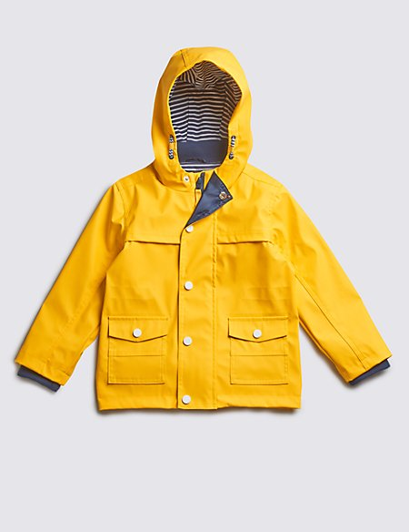 Fisherman Hooded Jacket (1-7 Years)