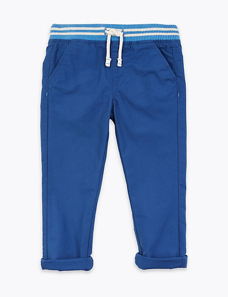 Cotton Ripstop Trousers (2-7 Years)