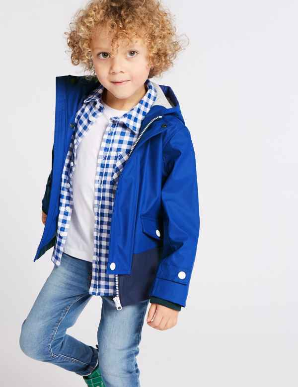 3faed606988 Colour Block Fisherman Jacket (3 Months - Years)