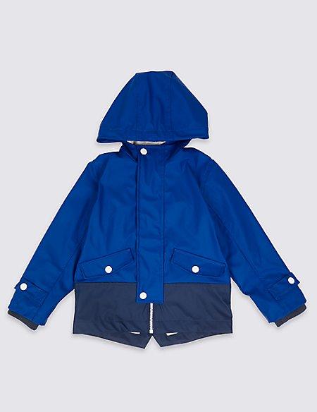 Colour Block Fisherman Jacket (3 Months - Years)