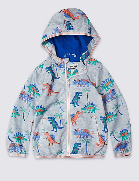 Dinosaurs Print Jacket (3 Months - 7 Years)