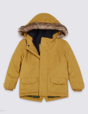 Faux Fur Parka (3 Months - 7 Years)