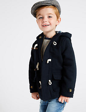 Hooded Duffle Coat (3 Months – 7 Years)