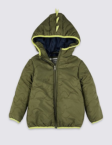 Dinosaurs Padded Coat (3 Months - 7 Years)