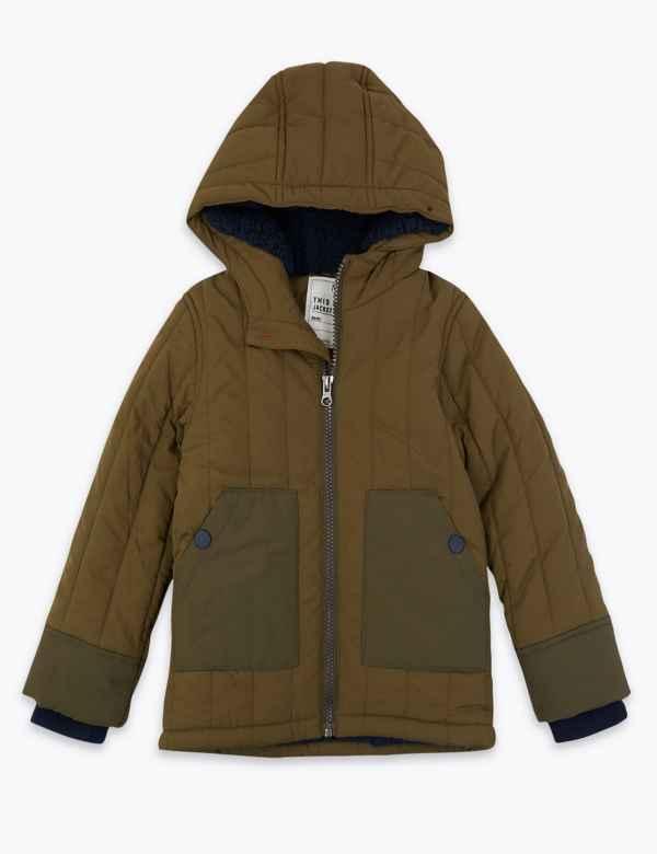 fd16ea1b5 Boys Coats And Jackets   M&S