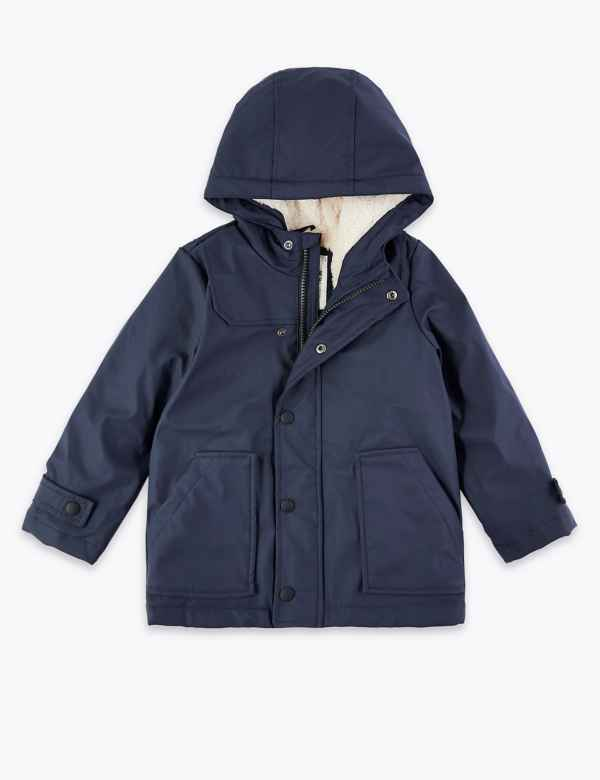 6e3a10b65 All Boys Coats | Padded & Quilted Coats for Boys| M&S