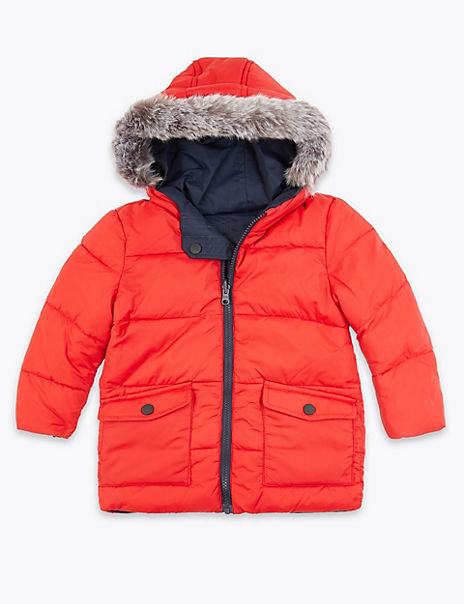 Reversible Padded Parka (3 Months - 7 Years)