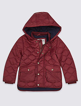 Hooded Neck Quilted Coat (3 Months - 7 Years)