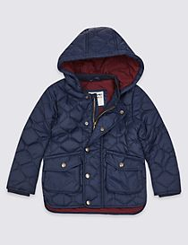 Quilted Coat (3 Months - 7 Years)