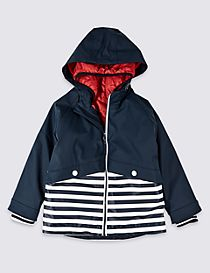 Striped Fisherman Jacket (3 Months - 7 Years)