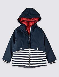 Striped Fisherman Jacket (3 Months - 7 Years)