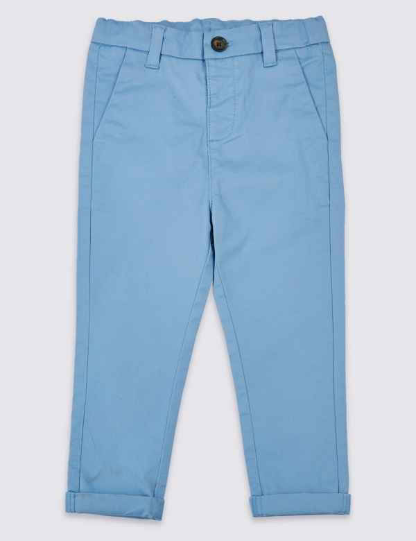 ca6df49f0948 Cotton Chinos with Stretch (3 Months - 7 Years)