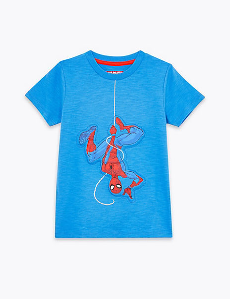 Pure Cotton Spider-Man™ T-Shirt (2-7 Years)