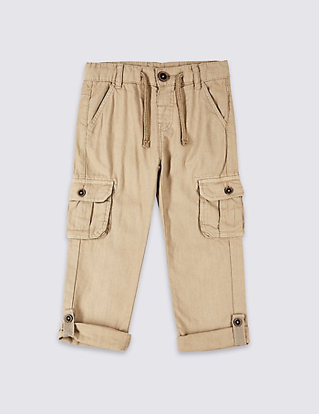 Cargo Trousers (3 Months - 7 Years)