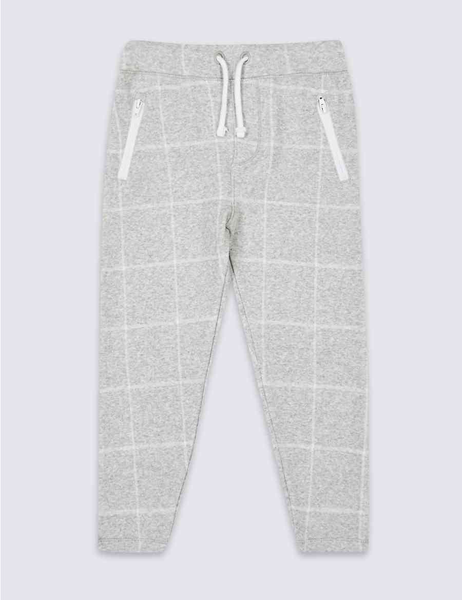 4376648e Cotton Rich Joggers (3 Months - 7 Years) | M&S