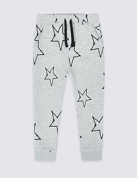 Easy Dressing Printed Joggers (3 Months - 7 Years)