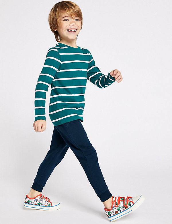 Baumwoll-Jogginghose mit Kordelzug (2–7 Jahre)