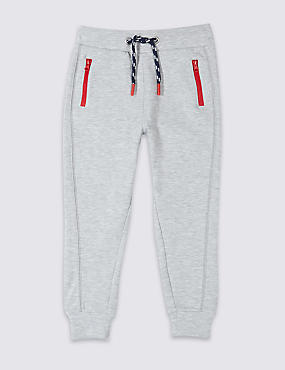 Cotton Rich Sporty Joggers (3 Months - 7 Years)