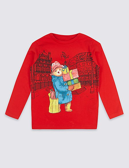 Paddington™ Pure Cotton Top (3 Months - 7 Years)