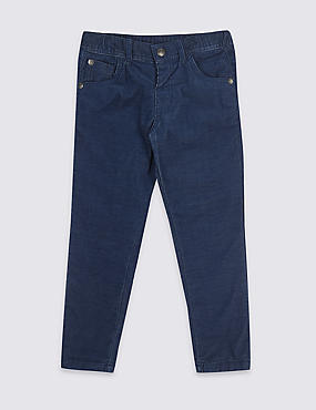 Cotton Cord Trousers with Stretch (3 Months - 7 Years)