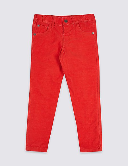 Cotton Rich Cord Trousers (3 Months - 7 Years)
