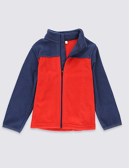 Zipped Through Fleece Top (1-7 Years)
