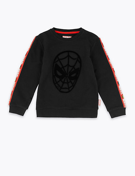 Marvel Spider-Man™ Print Sweatshirt (3 Months - 7 Years)