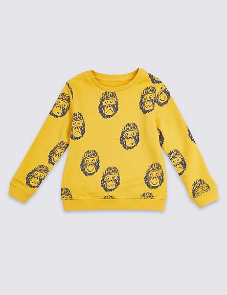Gorilla Sweatshirt (3 Months - 7 Years)