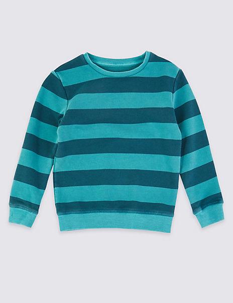 Striped Sweatshirt (3 Months - 7 Years)