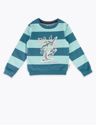 Roald Dahl™ & NHM™ Badger Sweatshirt (2-7 Yrs)