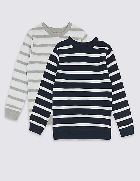 2 Pack Sweatshirts (3 Months - 7 Years)